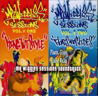 Mr Wiggles SESSIONS 1&2 サントラCD