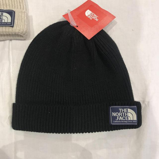 THE NORTH FACE BEANIE/BLK