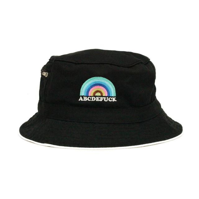 ABCDEFUCK Hat/BLACK