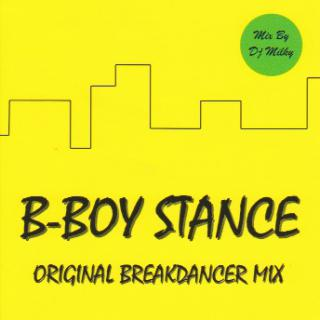 B-BOY STANCE/Yellow