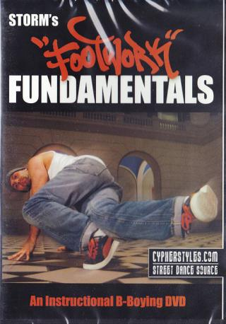 Storms Footwork Fundamentals DVD