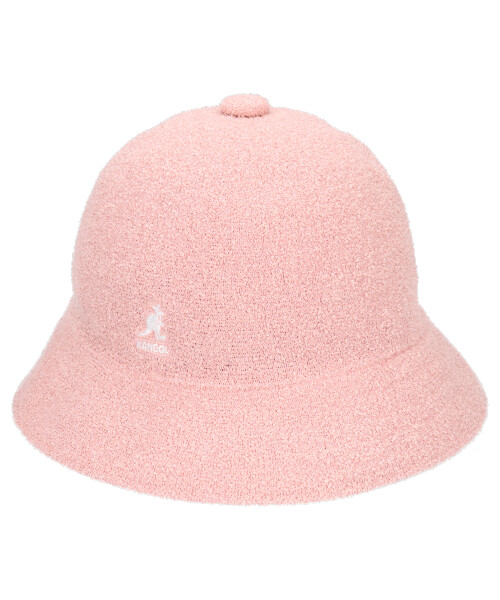 KANGOL パイルHAT/DUSTY ROSE