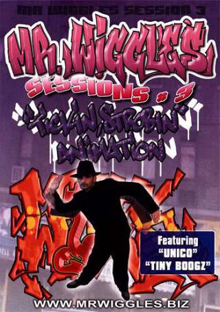 Mr Wiggles Sessions 3 Ticking Strobing Animation DVD