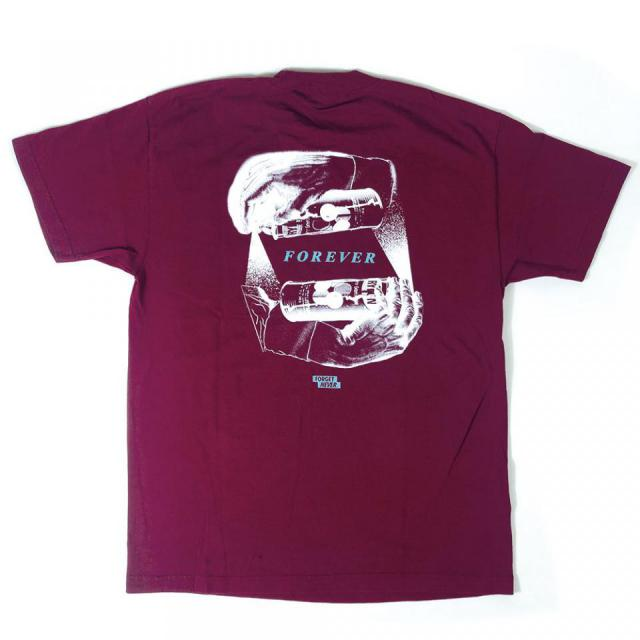 FOREVER - Short Sleeve T-Shirt ( Maroon )