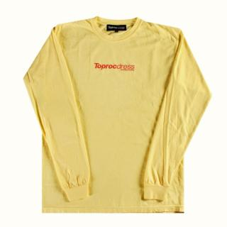 Text-logo Pigment L/S Tee (BUTER)