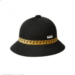 KANGOL CHAIN HAT BLACK