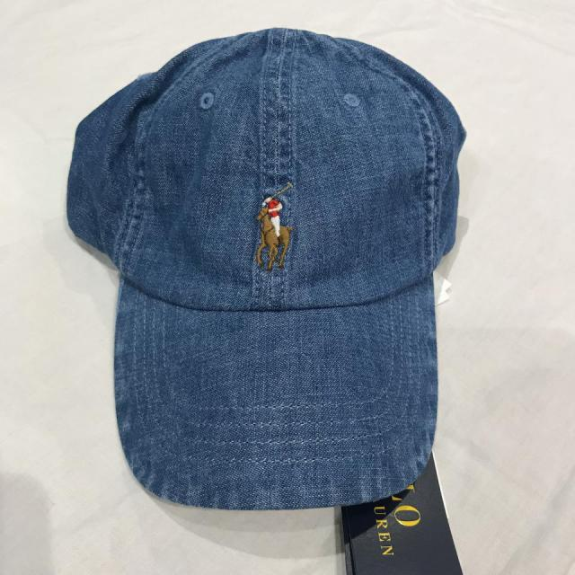 POLO RALPH LAUREN CAP/DENIM BLUE