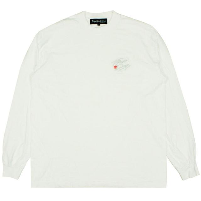 NOMAD L/S Tee/WHITE