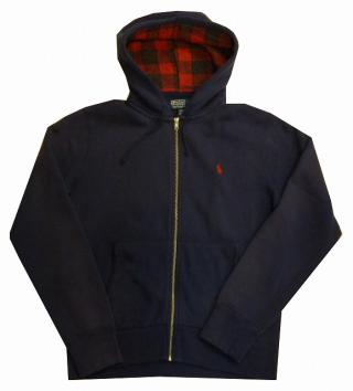 Polo Ralph Lauren Zip up Hoodie-NVY-