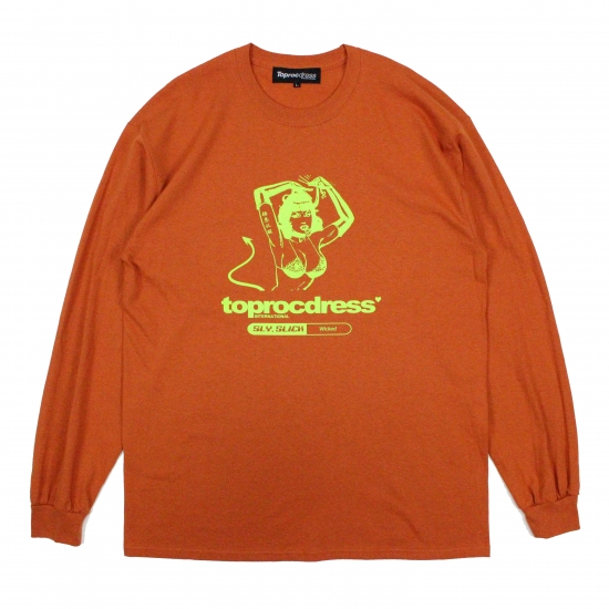 Hell girl L/S Tee (ORANGE)