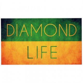 Diamond Supply Diamond Life Sticker