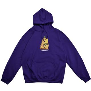 BOTTLE HOODIE (PURPLE)