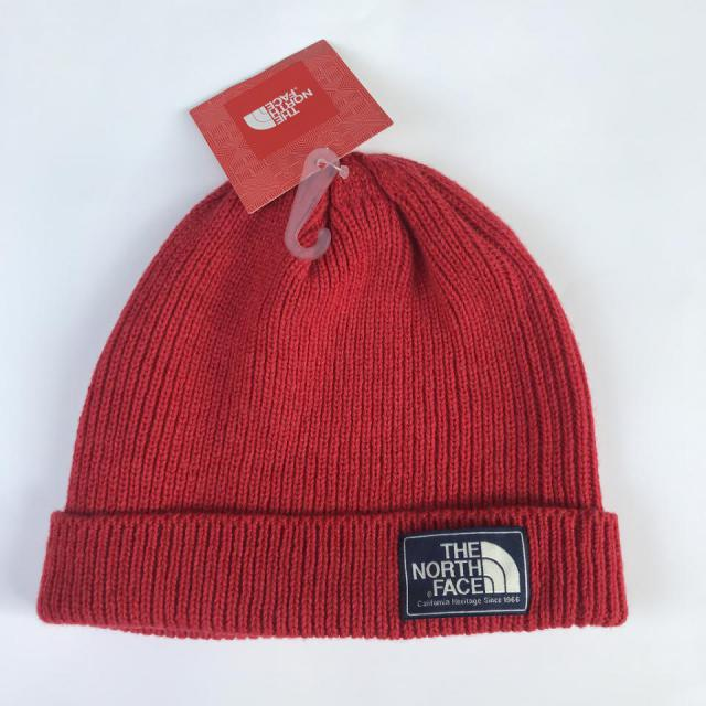 THE NORTH FACE BEANIE/RED