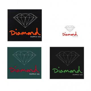 Diamond Supply OG Sign Sticker