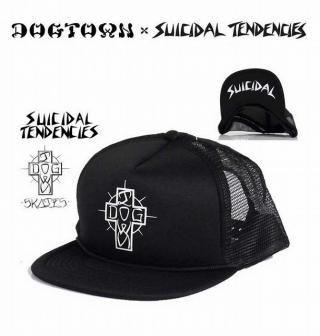 DOGTOWN x SUICIDAL TENDENCIES MESH CAP