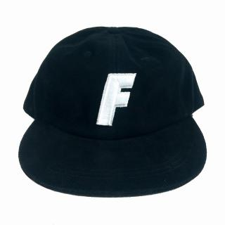 """F"" Logo Ball Cap (Black)"