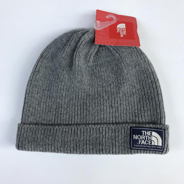 THE NORTH FACE BEANIE/GRAY