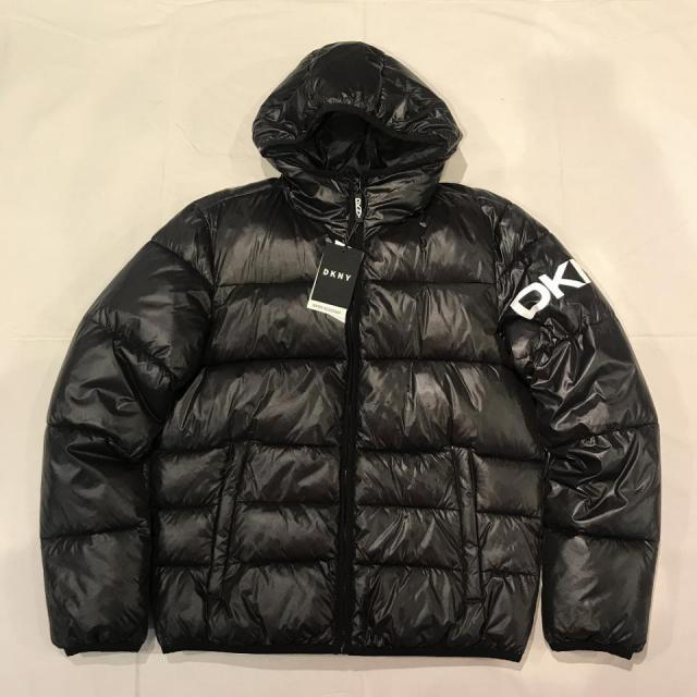 DKNY LOGO DOWN JACKET