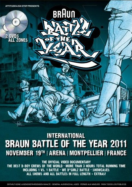 BATTLE OF THE YEAR2011 FINAL DVD 入荷…